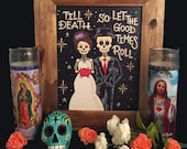 Day of the Dead-Bride and Groom (Brunette)