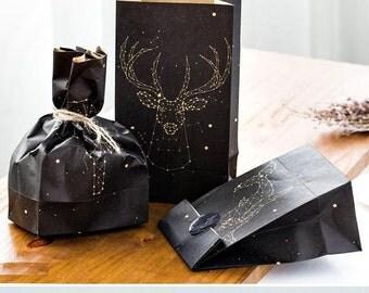 Paper Gift Bag Set - Glow in the Dark - 3 Pcs