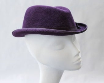 The Adaeze Trilby w/ Grosgrained Finished Brim
