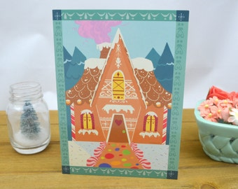 Sweet Christmas Cards (Set of 5 Cards)