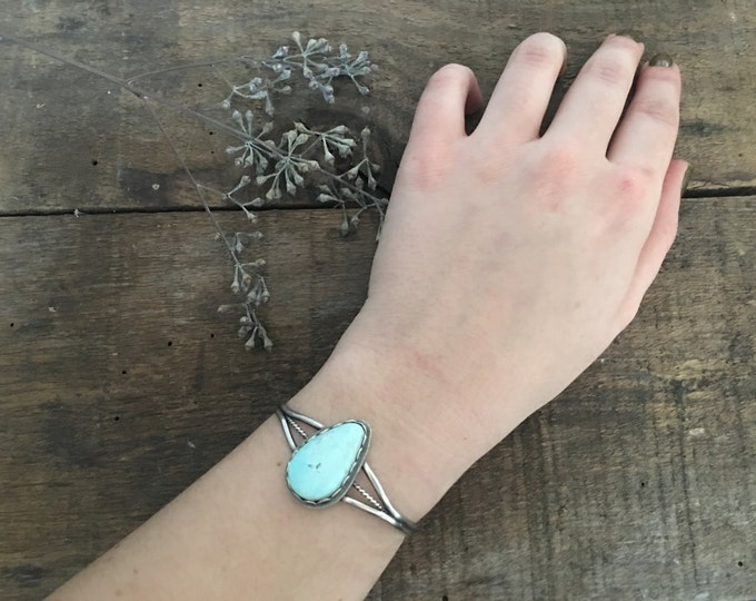 turquoise thin band braided cuff, split double band bracelet, .925 sterling silver jewelry, teardrop turquoise, gifts for bohemian brides,