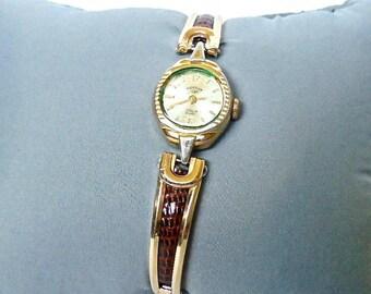 Sale! Rotary Wrist Watch, 17 Jewel, Swiss Movement, Manual Wind, Expansion Watch Band