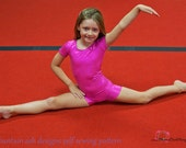 Unitards #2 pdf sewing pattern in girls sizes 2-14 long sleeve
