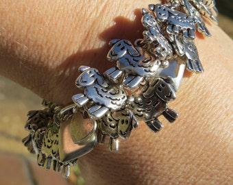 FEELING SHEEPISH Sheep Lamb Charm Bracelet