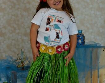 Moana Birthday Shirt, Moana Birthday, Moana Birthday Party, Princess Party, Hawaiian Birthday Party,Girls Moana Birthday Part,Girls Birthday