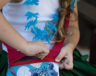 Stitch Purse, Girls Purse, Toddler Purse, Toddler Girls Purse, Little Purse, Lilo and Stitch, Stitch Accessories, Disney Lilo, Disney Purse