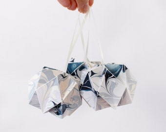 Patterned Origami Paper Ball