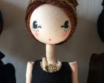 Posable art doll, Audrey Hepburn, Poseable art dolls, Audrey Hepburn art, unique art doll, art doll, collectible doll, Audrey Hepburn doll