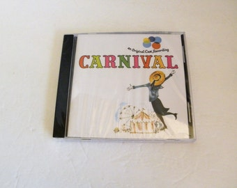 1989 CARNIVAL CD Original Broadway Cast Ann Maria Alberghetti Kay Ballard   New Factory Sealed