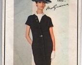 """1960's Vogue Paris Original Shift Dress - Molyneaux - Bust 31"""" - No. 1502"""