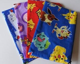 Pokemon anime manga comic tv show nerd geek video game Nintendo pikachu Pokeballs pencil pouch 3ds ds case