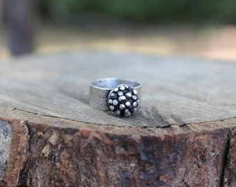 SALE - Recycled Sterling Galaxy Ring