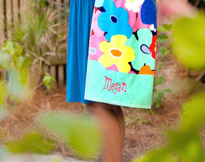 Monogram Beach Towels, Monogrammed gifts, Bridesmaid gifts, Monogram Beach Towels, Bridesmaid Gifts, Group Order Discounts