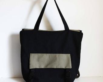 Yoga Mat Backpack Canvas Tote Cycling Bag