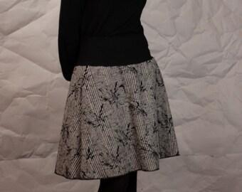 Marie rock, rock, rock flowers, floral skirt, flower skirt, skirt