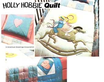 Holly hobbie pillow etsy for Housse de couette sarah kay