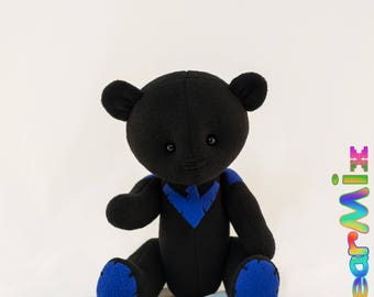 Nightwing bear  - dc superhero movie comic plush toy batman Dick Grayson