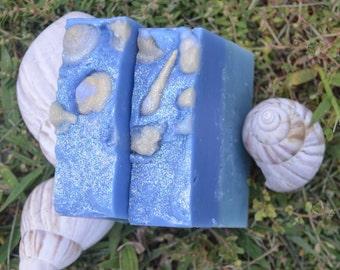 Beach Vegan Artisan Soap Bar 5oz