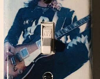 Ace Frehley Light Switch Plate