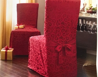Red Slipcover Chair Covers