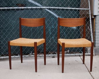 Danish Modern Chairs / Poul Volther for Frem Rojle