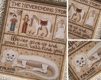 The Neverending Story - PDF Digital Cross Stitch Pattern