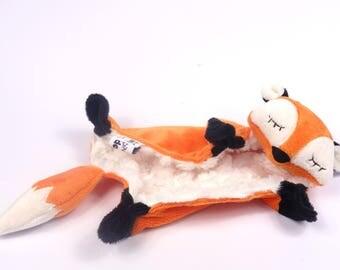 Sleepy Fox Security Blanket Lovey Sewing Pattern