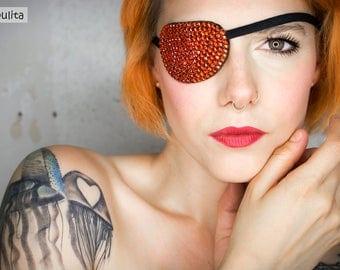 Eye Patch *Orange Sparkle*