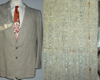 1950s Suit / 42 - 44 / L / Flecked / Rockabilly / Stage / Elvis / Vintage 1950s Mens Fashion / 50s Suit / Atomic / Rockabilly Suit / VLV