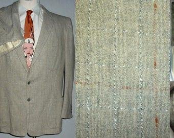 1950s Suit / 42 - 44 / L / Flecked / Rockabilly / Stage / Elvis / Vintage 1950s Mens Fashion / 50s Suit / Atomic / Rockabilly Suit / VLV