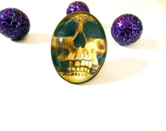 Memento Mori Ring - Skull Ring - Statement Ring - Memento Mori - Skull - Gothic Ring - Death - Bohemian - Gifts for Her -  Boho Ring - Goth