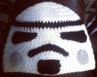 Stormtrooper Beanie for Baby, Child, Teen, or Adult, Sci Fi Photo Prop, Cosplay Accessory, Gifts for New Baby