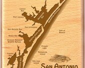 SAN ANTONIO BAY River Map...
