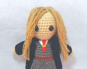 Amigurumi Hermine Crochet Doll