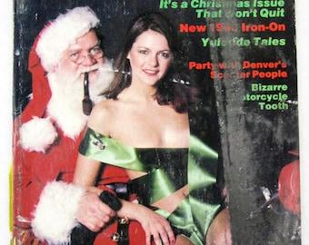Vintage Easyriders Magazine w/ David Mann Poster January 1980 #79 (mature)