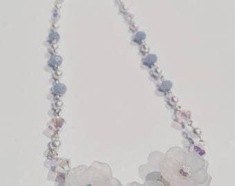 something new, something blue necklace