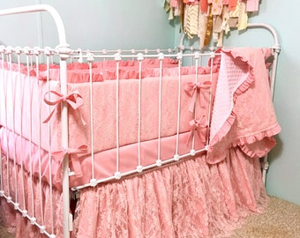 Ruffle Crib Skirt Etsy