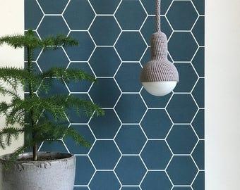 Lampe, ceiling pendant lamp in gray