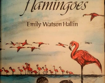 Vintage children's book:  Moya and the Flamingoes 1969