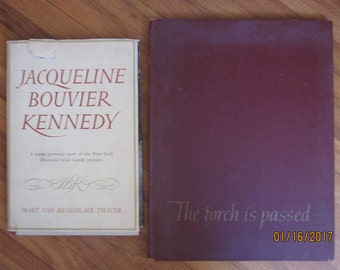 Pair of Kennedy Books-1st Lady Jacqueline Kennedy and the Death of John Kennedy