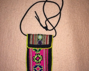 Indian hand embroidery purse