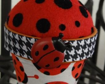 Ladybug #19: Stick-It-To-Me! Pin Cushion