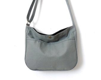 Canvas Hobo Bag Crossbody Bag Slouch Bag Purse