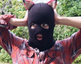 Fantastic Mr. Fox Bandit Mask //Unisex Costume//Wes Anderson Inspired//For Him//For Her//Halloween Costume//