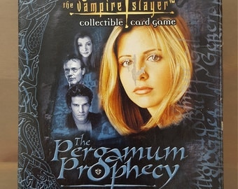 Buffy the Vampire Slayer Card Game - Pergamum Prophecy Hero Starter Deck Rare Collectible Joss Whedon Whedonverse Angel Spike Willow Score