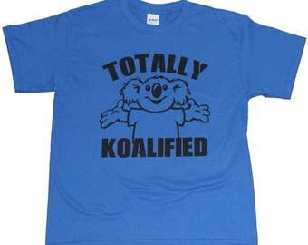 Totally Koalified Koala Youth T-shirt Royal Blue