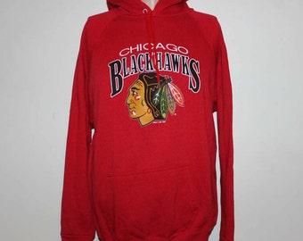 Vintage Chicago Blackhawks NHL Crewneck Sweatshirt L
