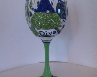 Diva (Purple and lime green)