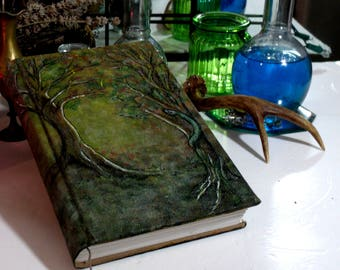 Serpent's Tree Grimoire 300p Hand Painted Journal, 6x9