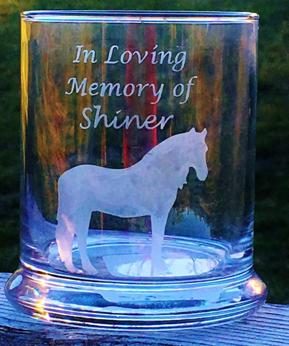 In Loving Memory, Horse Candle Holder, Horse Gift, Animal Sympathy